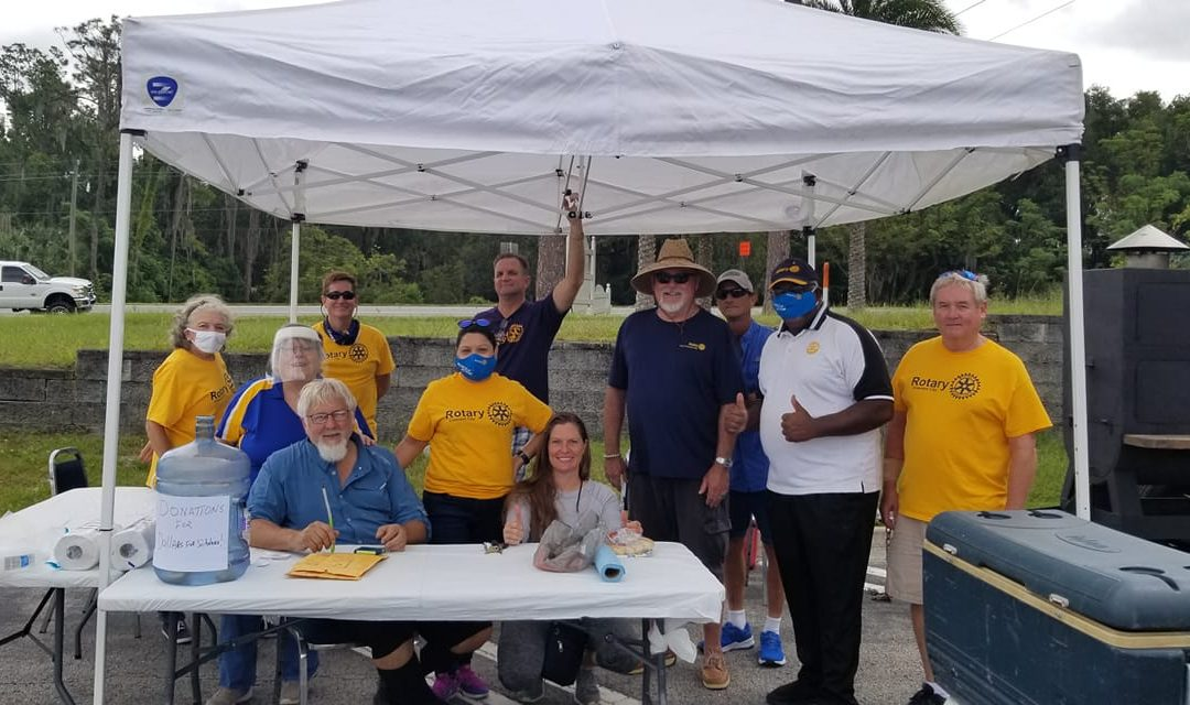 Rotary Club of Crescent City BBQ Pork Butt Fundraiser Success